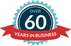 More than 60 years in business