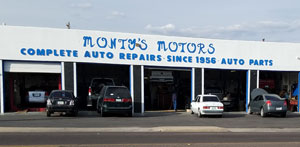 Monty's Motors Inc. | Auto Repair Sierra Vista, AZ 85635